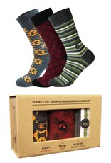 Conscious Step Men's Humanitarian Sock Collection - Set of 3