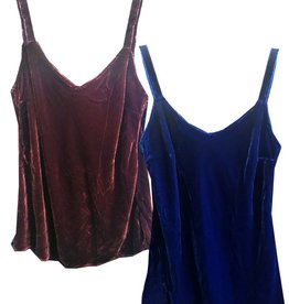 Cut Loose Bias Camisole Velvet