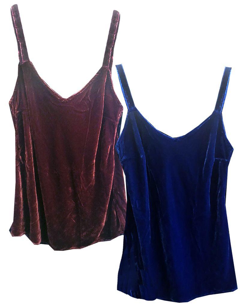 Cut Loose Bias Camisole Velvet