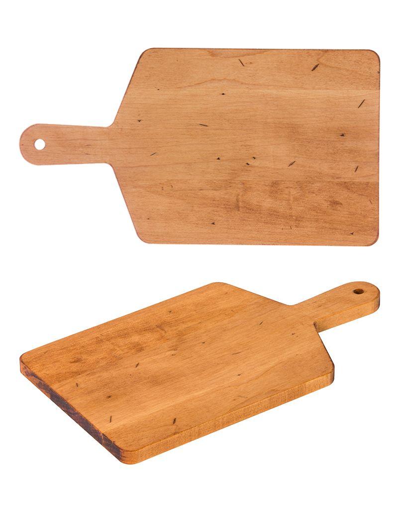 JKAdams Maple Rect. Cheese Board With Handle