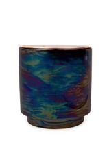Paddywax Glow 17oz. Iridescent Ceramic w/ Copper Lid