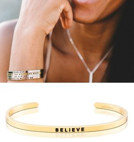 MantraBand Believe Mantra Band - Gold