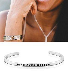 MantraBand Mind Over Matter - Silver