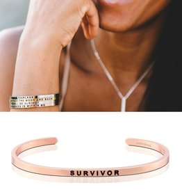 MantraBand Survivor - Rose Gold