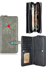 espe/storm Abstract Long Wallet Grey