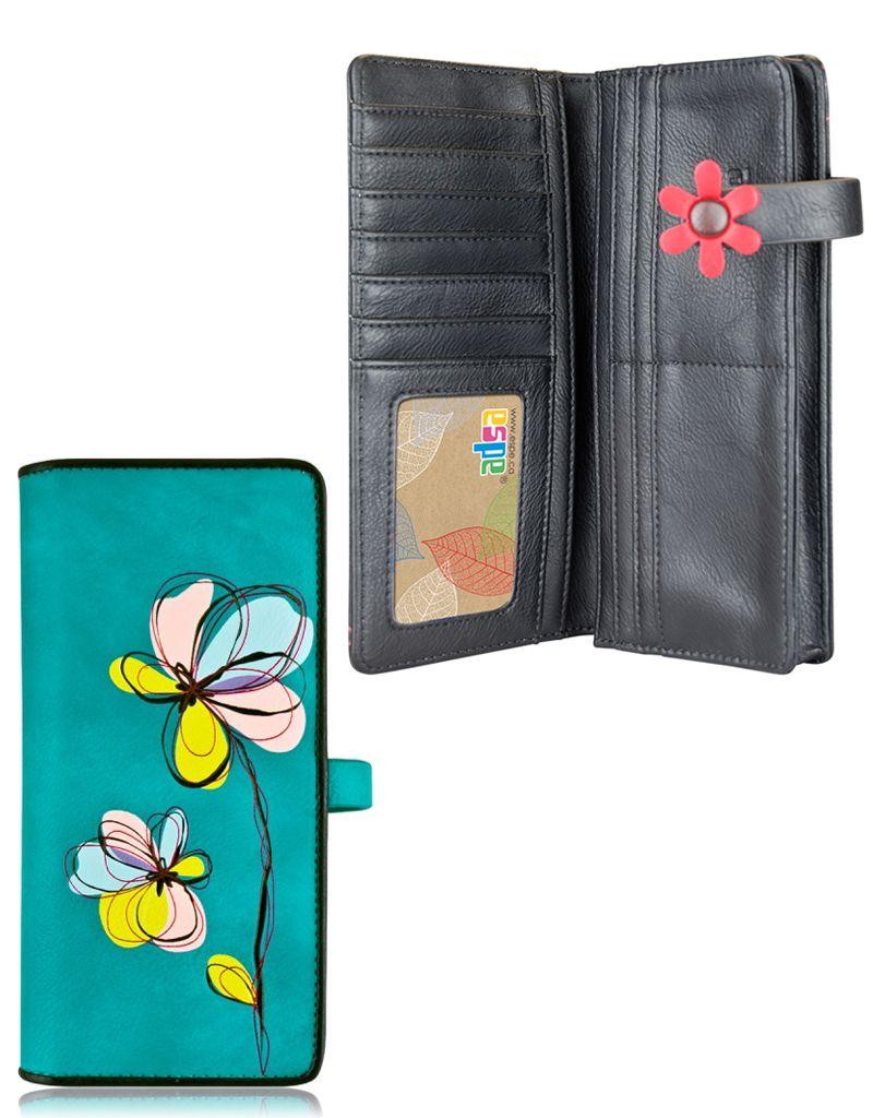 espe/storm Cosmo Long Wallet  Blue