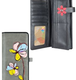 espe/storm Cosmo Long Wallet Grey