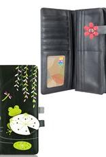 espe/storm Frog Long Wallet Black