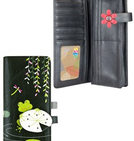espe/storm Frog Long Wallet Black