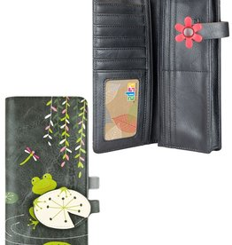 espe/storm Frog Long Wallet Grey