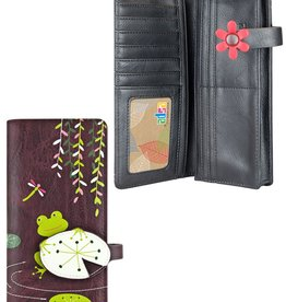 espe/storm Frog Long Wallet Purple