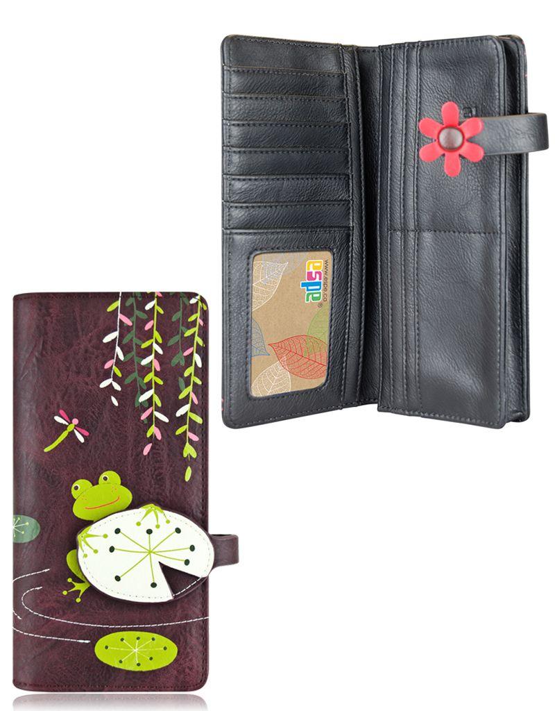 espe/storm Frog Long Wallet Purple