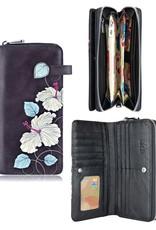 espe/storm Hibiscus Long Wallet Blue