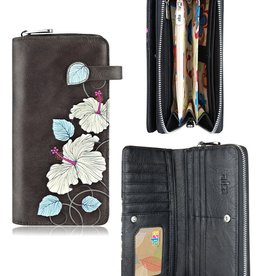espe/storm Hibiscus Long Wallet Brown