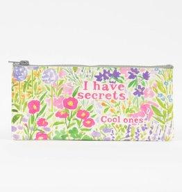 Blue Q I Have Secrets Pencil Case