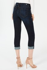 Kut from the Kloth Amy Crop Straight - Roll Up Fray Jean