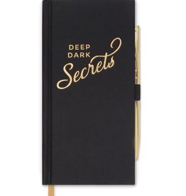 "designworks ""Deep Dark Secrets""Slim Journal Notebook"