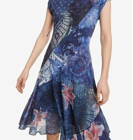 Desigual Osages Navy Dress
