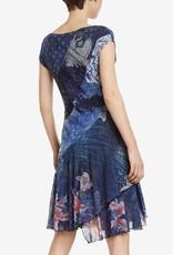 Desigual Osages Navy Dress