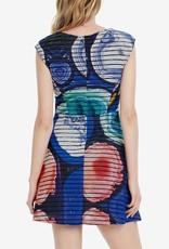 Desigual Mineral Azul Klein Dress