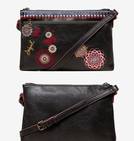 Desigual Chandy Durban Embroidered Messenger Bag