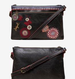 Desigual Chandy Durban Embroidered Messenger Bag