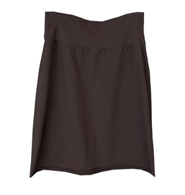 Cut Loose Raw Edge Pencil Skirt