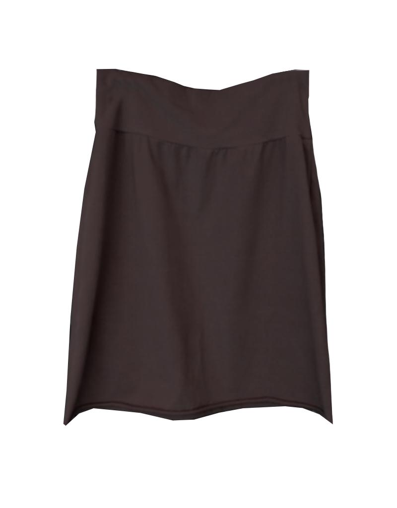 Cut Loose Raw Edge Pencil Skirt