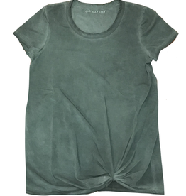 Chroma + Basix Oil Washed Tee w/Twist
