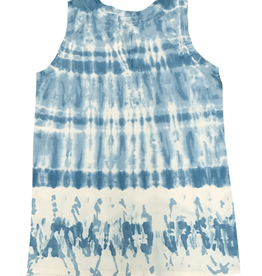 Chroma + Basix Tie Dye Tunic Tank Top