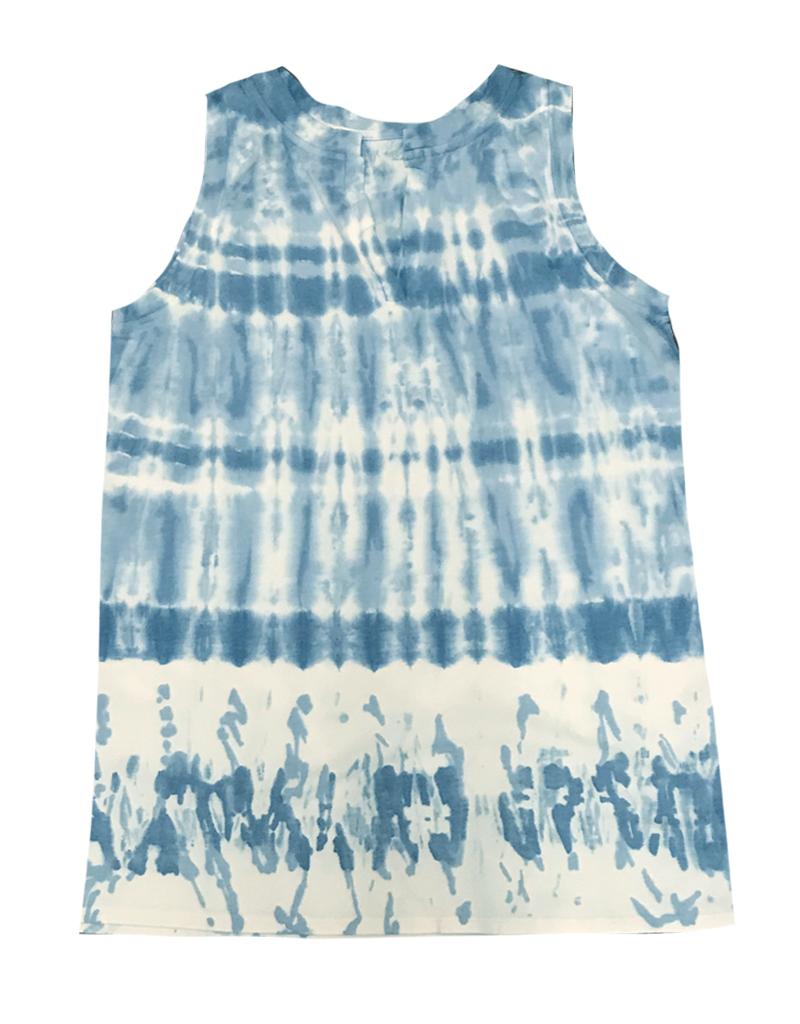 Chroma + Basix Tie Dye Tunic Tank Top