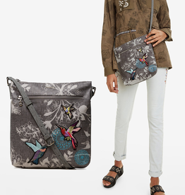Desigual Wallpaper Hummingbird Bag