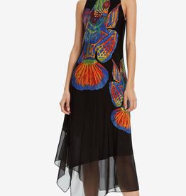 Desigual Cristin Fish Print Dress