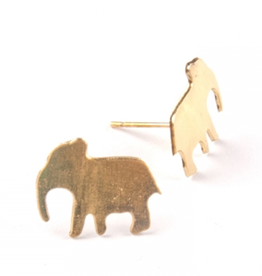 Mata Traders Good Luck Stud Earrings