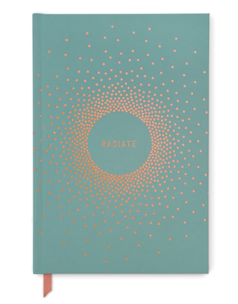 "designworks Copper Dots ""Radiate"" Journal"