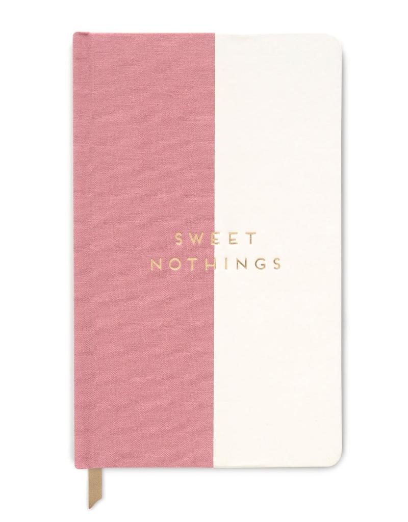 """designworks """"Sweet Nothings"""" Cloth Halfsies Journal"""