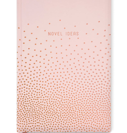 "designworks Copper Dots ""Novel Ideas"" Journal"