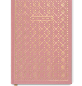 """designworks """"Pretty Thoughts"""" Cloth Journal"""