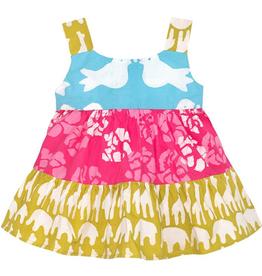 e386298713a Global Mamas Gypsy Sahara Mustard Organic Baby Dress Organic Cotton