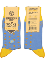 Conscious Step Socks that Give Books III - Small
