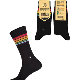 Conscious Step Socks That Save LGBTQ Lives -Small