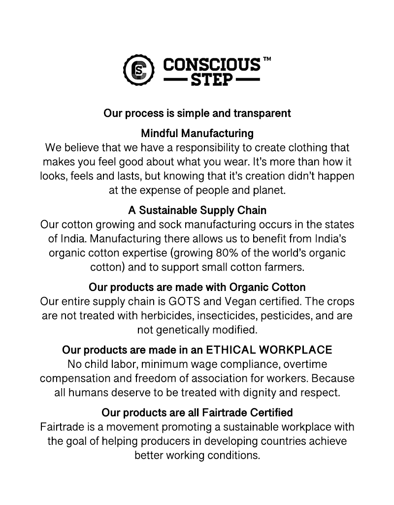 Conscious Step Socks That Fight Malaria II - Large