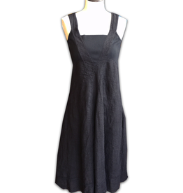 Porto Square Neck Linen Dress