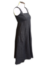 Porto Square Neck Linen Dress
