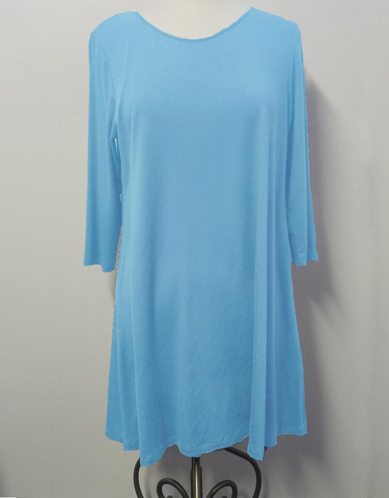 Comfy 3/4 Sleeve Tunic Top