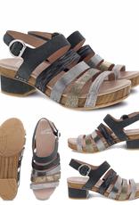 Dansko Maribeth Metallic Multi-Strap Sandal