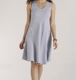 Luna Luz Linen Tank Dress w/Pockets