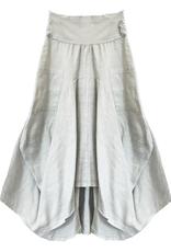 Porto Long 2 Pkt Linen/Cotton Skirt