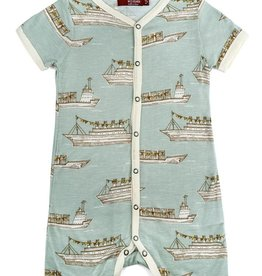 Milkbarn Bamboo Cotton Shortall