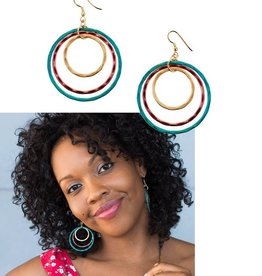 Matr Boomie Vitana Earrings-High Vibration